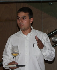 Alex Duran at Wine Pleasures