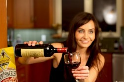 Kelli McCarty at Wine Pleaures