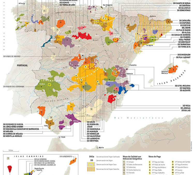 The Surprising Terroirs & Wines of Spain