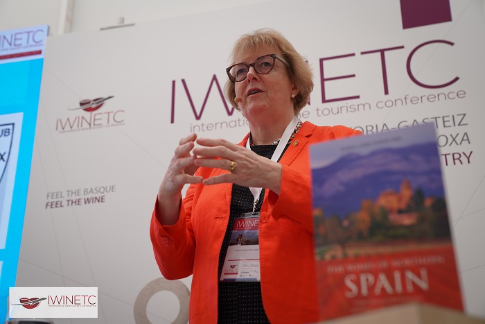 Sarah Jane Evans MW Keynote Speaker at Spanish Wine Day by Wine Pleasures